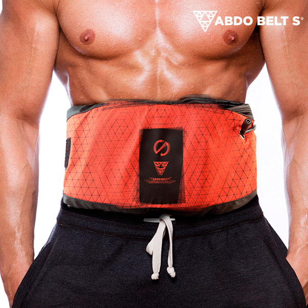 Abdo Belt S Vibrating Belt with Sauna Effect