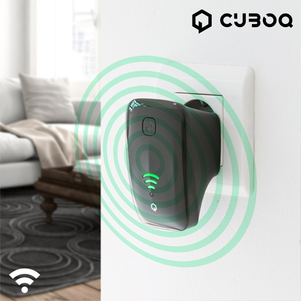 CuboQ 300 Mbps WiFi Repeater