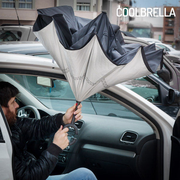 Coolbrella Reverse Folding Umbrella